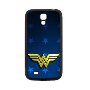 LeonardCustom Protective Hard Rubber Coated Phone Cover Case for Samsung Galaxy S4, Wonder Woman -LCS4U235