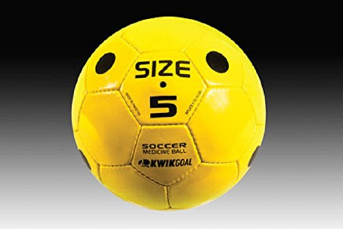 Kwik Goal Soccer Medicine Ball, Yellow