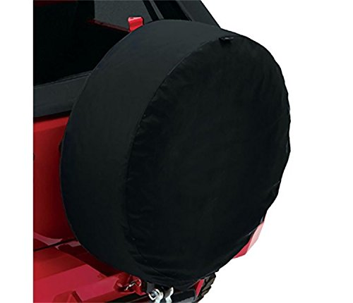 Bestop 61033-17 Black Twill XX-Large Tire Cover for tires 33