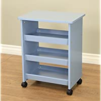 Frenchi Home Furnishing All Purpose Rolling Table, Blue
