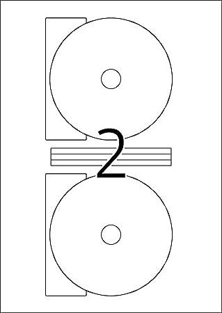 Herma CD labels white glossy /ø 116 SuperPrint