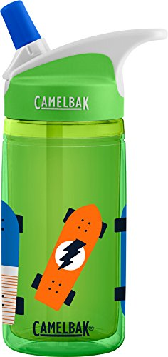 CamelBak Eddy Kids Insulated Water Bottle, Skateboards, .6 L