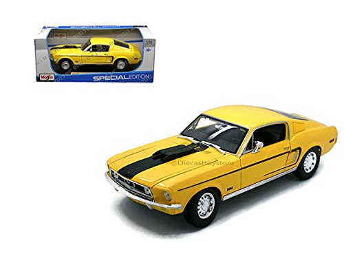 Ford Mustang Cobra Model (Maisto 1968 Ford Mustang GT Cobra Jet Diecast Vehicle)