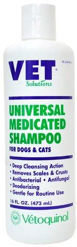 Vet Solutions Universal Medicated Shampoo (16oz), My Pet Supplies
