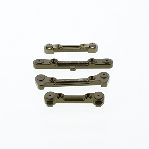 Team Losi 8IGHT 4.0 Buggy: Front & Rear Hinge Pin Braces/Mounts, Adjustable LRC