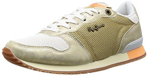 Pepe Jeans London Gable Gold Damen Sneakers Gold (099GOLD)