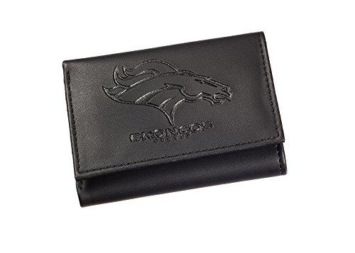 Team Sports America NFL Denver Broncos Tri-Fold Wallet, Black ()