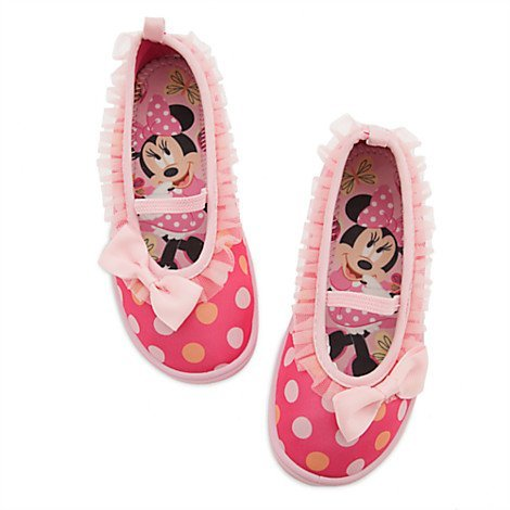 Disney Store Minnie Mouse Clubhouse Swim Shoes for Kids - Si