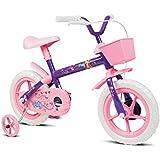 Bicicleta Infantil Verden Paty - Aro 12 com cestinha e rodinhas