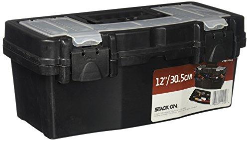 Stack PTB 12LS 12 Inch Plastic Black