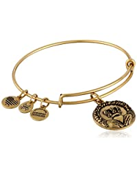 Alex and ANI Claddagh II Expandable Rafaelian Bangle Bracelet