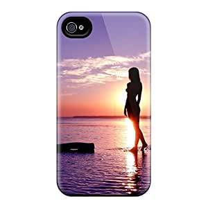 Evening Stroll Case Compatible With Iphone 4/4s/ Hot Protection Case