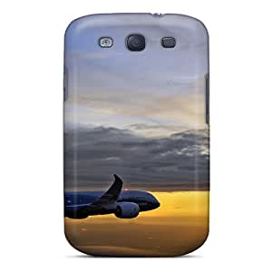 Premium Durable Boeing 787 Dreamliner Plane Fashion Tpu Galaxy S3 Protective Case Cover