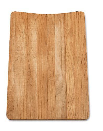 Blanco 440229 Wood Cutting Board, Fits Diamond Equal Double Bowl, Red Alder