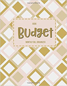 budget book monthly bill organizer 12 month budget planner book