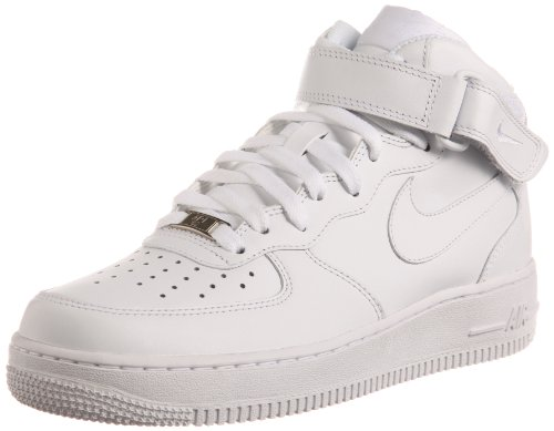 Shoes White Af1 - Nike Men's Air Force 1 Mid 07 Basketball Sneakers White Size 13 D (US)