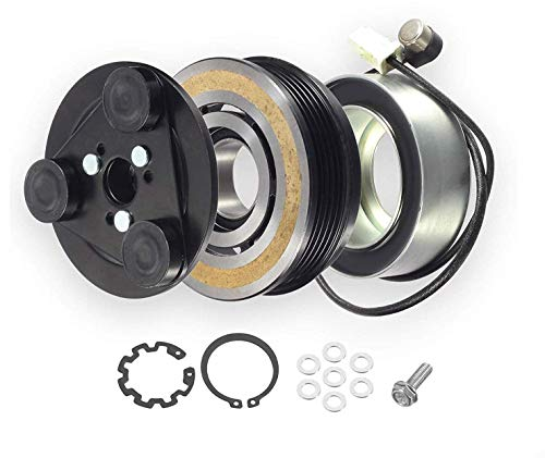 Mazda 3 2004-2009 AC Compressor Clutch Kit Includes Coil with original harness and thermal sensor ()