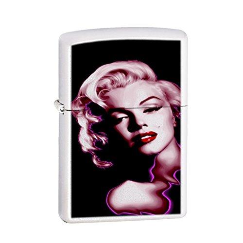 Marilyn Monroe Neon - Designer Brand Refillable White Lighter