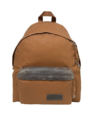 Eastpak Unisex Padded Pak'r Axer Brown Backpack 100% Cotton by Eastpak