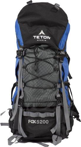 TETON Sports Fox 5200 Internal Frame Backpack (Blue), Outdoor Stuffs