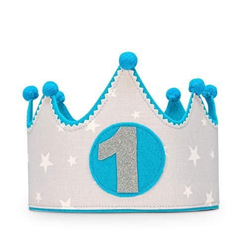 Kembilove Corona Primer Cumpleaños Bebe - Corona Tela ...