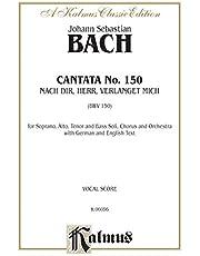 Cantata No. 150 - Nach dir, Herr, verlanget mich: SATB with SATB Soli