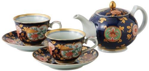 Imari Coffee Saucer (Hasami Yaki Old Imari Kinsai 3.5inch Coffe Cup & Saucer Porcelain)