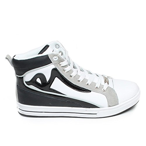 Redrum - Zapatillas altas Hombre - MATTEO HIGH - Black/White