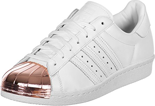 Metallic Adidas White White Metal Sneaker Superstar Donna 80's ftwr Ftwr copper vwqYvpr1