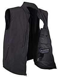 Rothco Concealed Carry Soft Shell Vest, Black
