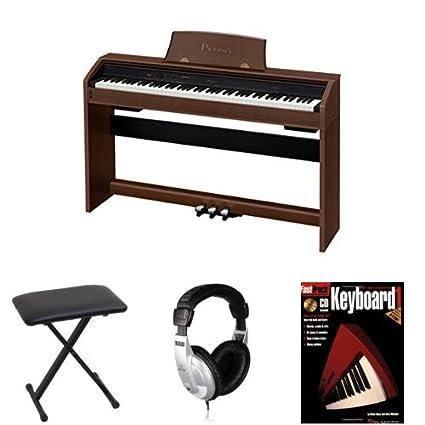 amazon com casio px 760 bn privia digital home piano beginner rh amazon com Casio Electronic Keyboard Casio Privia