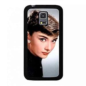Samsung Galaxy S5 mini Case Back,Samsung Galaxy S5 mini Durrable Case Cover,Audrey Hepburn Classical Beautiful funda