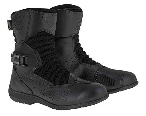Alpinestars Multiair XCR Gore-Tex Men's Street Motorcycle Boots (Black, EU Size 44)