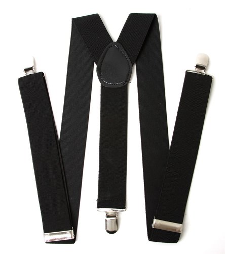 Gravity Heavy Duty Suspenders - (Comes in Many Colors)
