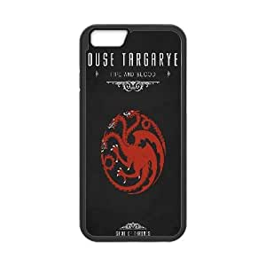 Game Of Thrones House Targaryen iPhone 6 Plus 5.5 Inch Cell Phone Case Black Protect your phone BVS_606497