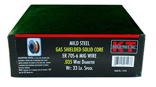 K-T Industries 70S-6 0.035 Mig Wire, 33-pound ()