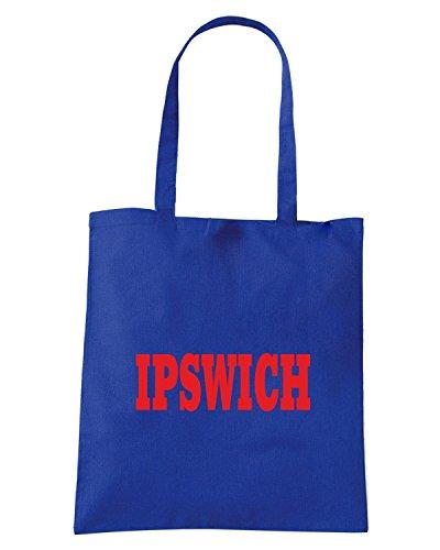 T-Shirtshock - Bolsa para la compra WC0760 IPSWICH Azul Real