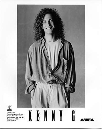 Kenny G original 8x10 photo 1990
