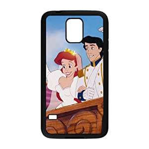 Samsung Galaxy S5 Cell Phone Case Black Disney The Little Mermaid Character Prince Eric 003 YB4925593