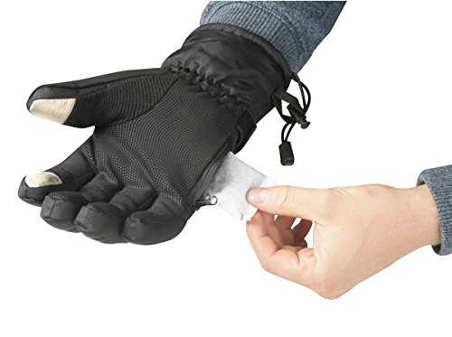 Small 3 Heat Settings Warmawear Battery Heated Dual Fuel Burst Power Deluxe Gloves