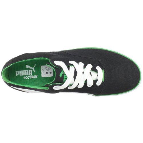 Puma Heren Limnos Fashion Sneaker Zwart-fern Groen
