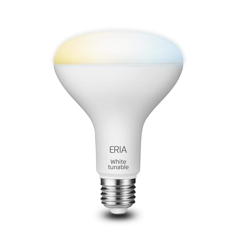 Smart Bulb Works with ERIA//Philips Hue//Alexa//Google Assistant ERIA Tunable White BR30 65W Equivalent Dimmable CRI 90