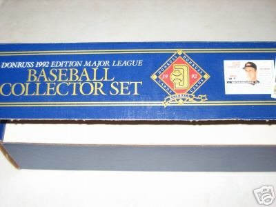 1992 Donruss MLB Baseball Cards Complete Factory Set (784 ()