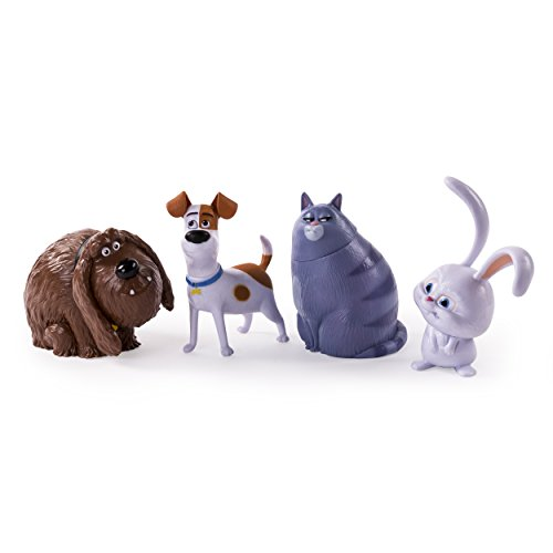 Poseable Figure Action Set - The Secret Life of Pets - Poseable Pet Figures 4-Pack