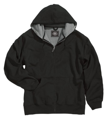 Zip Thermal Hooded Pullover Sweatshirt (Charles River Apparel 9542 Tradesman Thermal Full Zip)