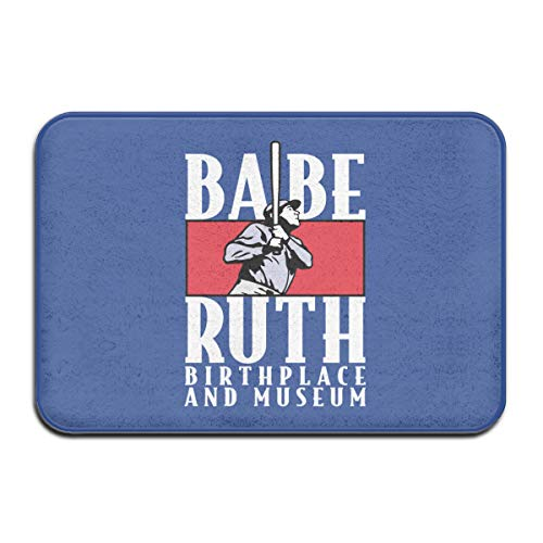 Indoor Doormat Polyester Area Rug Ba-be-Ru-th-Logo-Pattern for sale  Delivered anywhere in Canada