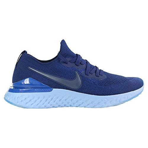 React Pack - Nike Epic React Flyknit 2 Men's Running Shoe Blue Void/Blue Void-Indigo Force-Black 11.0
