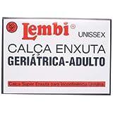 Calça Plástica Geriátrica de Adulto Pequena para Incontinência Urinária Lembi - 4 Unidades P2