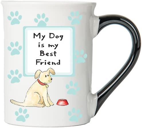 My Dog Is My Best Friend Mug, Dog Mug, Gifts for Dog Lovers, Pet Coffee Cup, Ceramic Mug, Pet Gifts By Tumbleweed