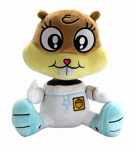 SpongeBob SquarePants Sandy Silly Eyes Plush